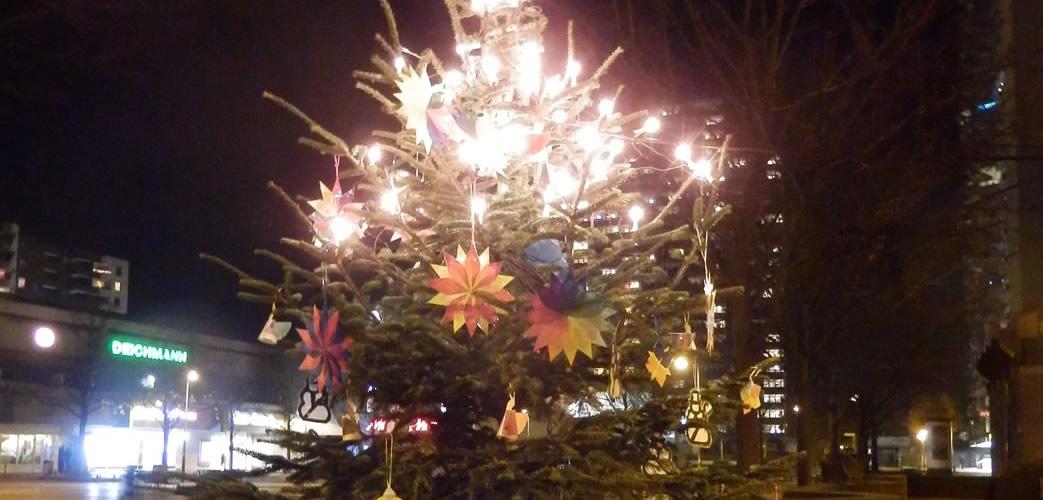 Weihnachtsbaum auf dem Pariser Platz